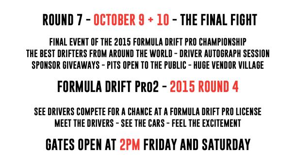 Irwindale Event Info